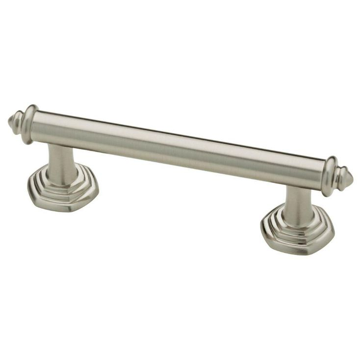 76mm satin nickel cabinet pull