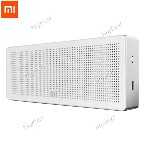 Square Box Xiaomi BT 4.0 Speaker Hands-free Calls Music Player w/ Mic for Smart Phones Computers HHITH-392622
