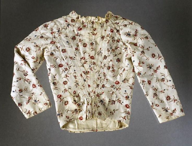Caraco, 1770-1780, back