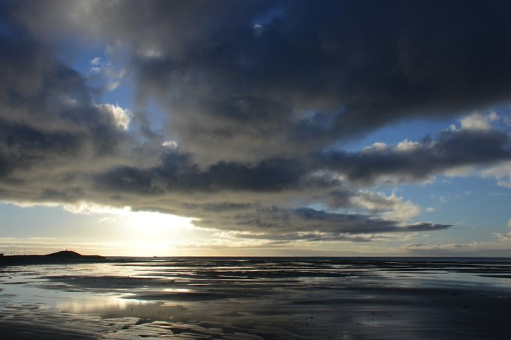 Heavy skies in the morning... Terschelling 2014