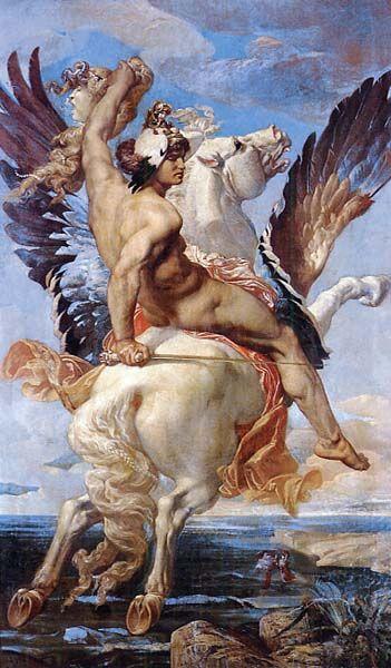 Joseph-Paul Blanc  Perseus  1869  Nîmes, Musée des Beaux-Arts