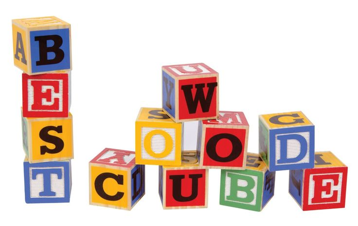 creative writing alphabets in blocks