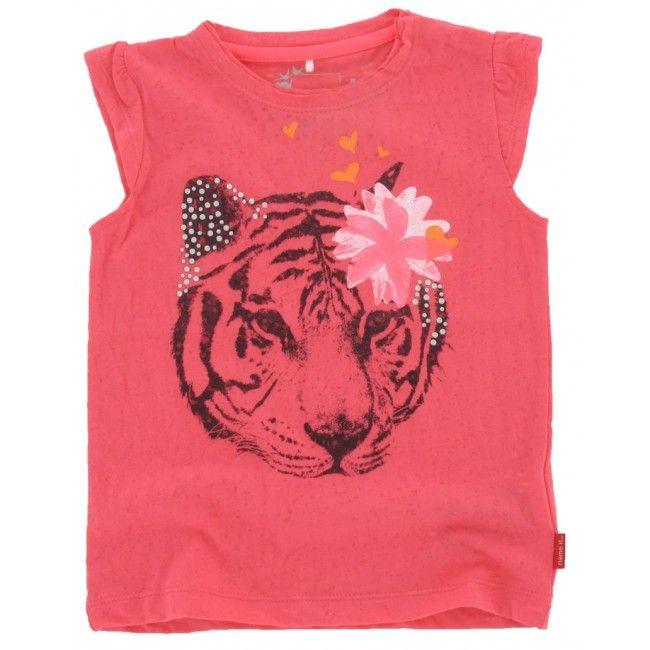 Name-it baby meisjes T-shirt Iben roze - Schweigmann