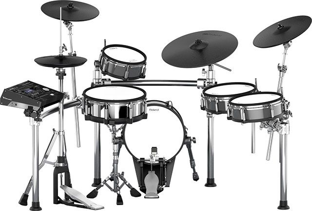 Roland TD-50KV Electronic Drum Set. http://www.drumperium.com/roland-td-50kv-electronic-drum-set/