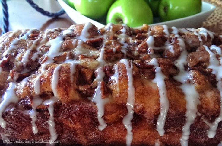 This Awesome Country Apple Fritter Bread is one of the top recipes on the blog! It's so versatile, delicious and doesn't last long! It's no wonder! Hope you love it!!Are you an AppleLover at heart?Click here for 4kinds of awesome APPLE ROUND-UPS on my Yummy Round-Ups Page!Check these out too! Caramel Glazed Apple Crumble Coffee Cake,Glazed Caramel Apple Cider Pound CakeandCountry Apple Fritter Muffins!