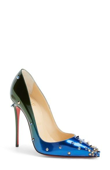 Christian Louboutin 'Degraspike' Pointy Toe Pump available at #Nordstrom