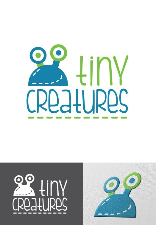 Tiny Creatures Logo Design By Innichka Diverse