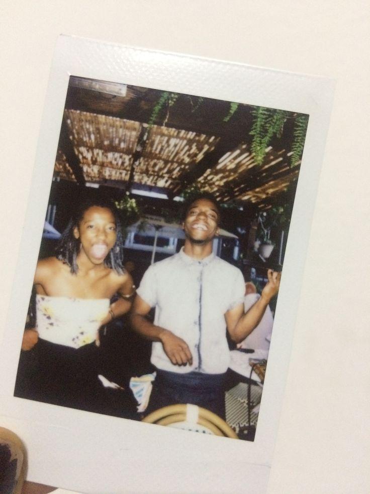 Ma nigga Kel #vintage #instant #photo #instantcam #oldschool #silly #kids #twins #friends #work