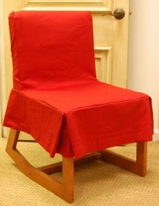 Desk Chair Slipcover, Comes In Many Fabrics Part 37
