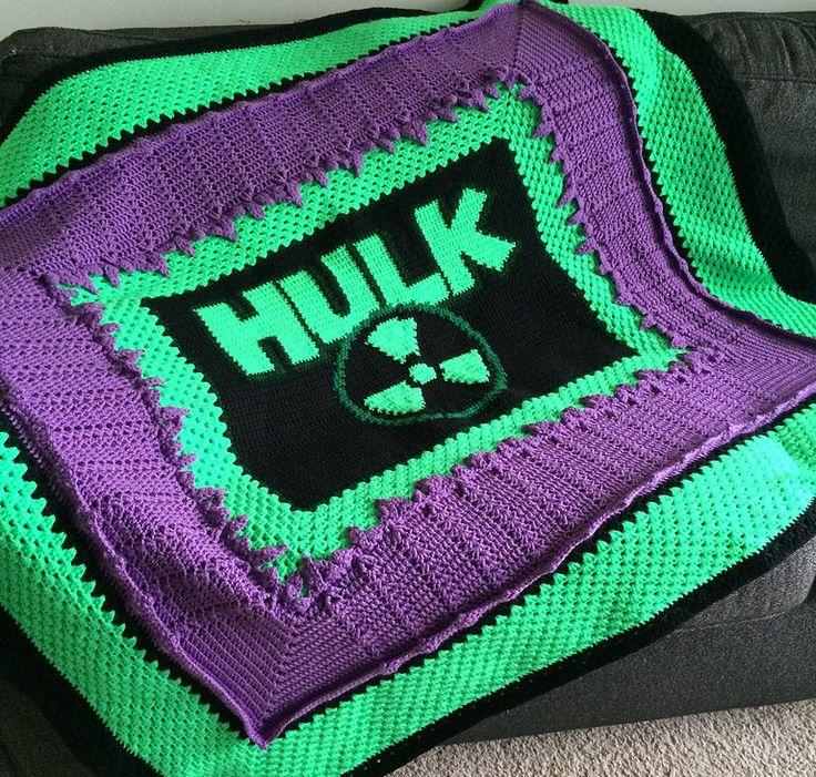 Knitting Pattern For Batman Blanket : 17 Best images about Crochet afghans on Pinterest Afghan ...