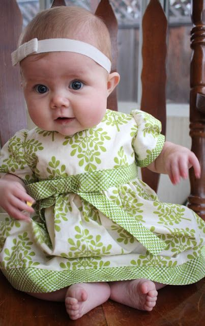 This is the cutest blog for sewing children's clothing! The perfect blend of classic and fun.