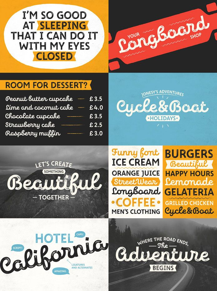New Jonesy Latin Font Family By Type Designer And Lettering Artist Ksenia Belobrova