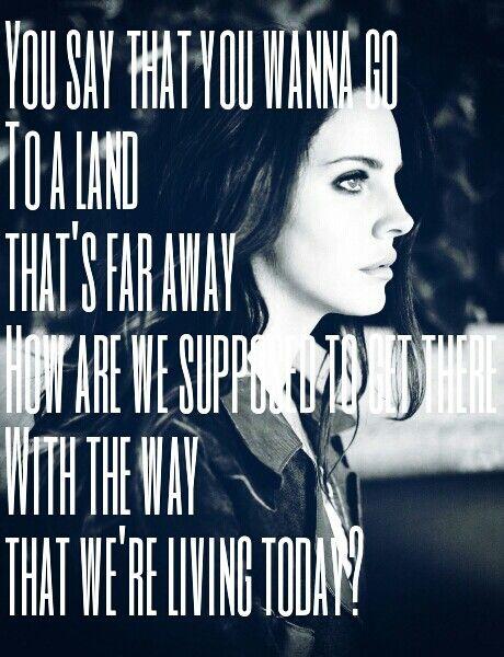 Lana Del Rey #LDR  #Money_Power_Glory