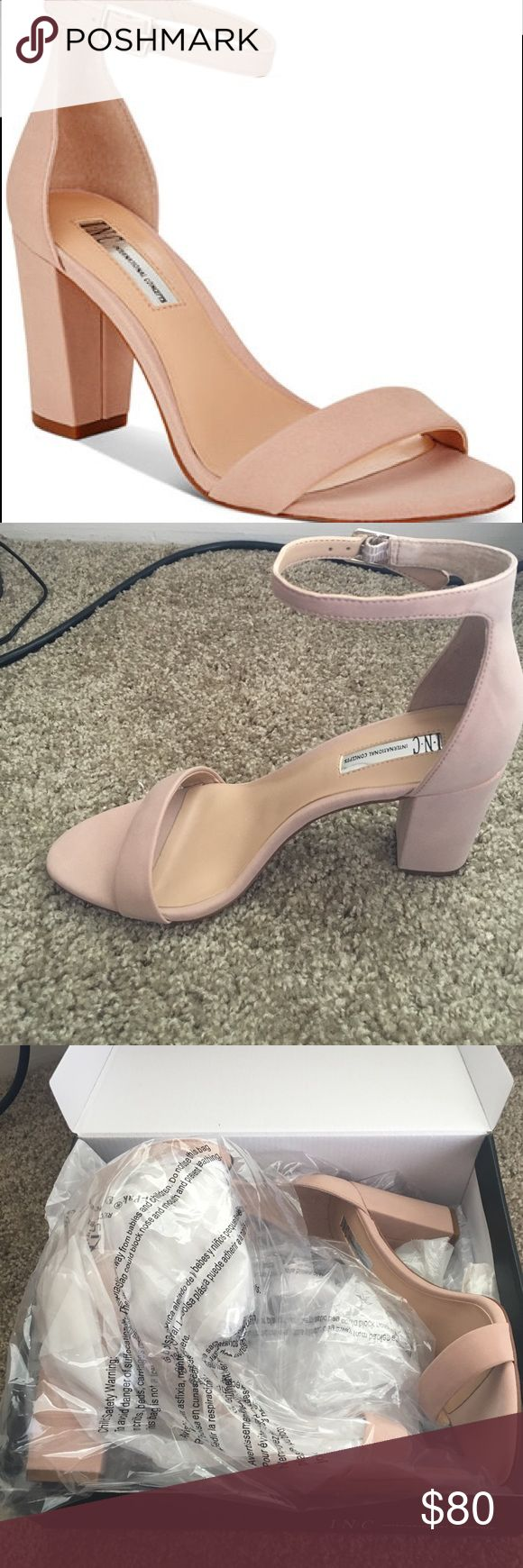 Block heels Never been worn, new with box INC International Concepts Shoes Heels