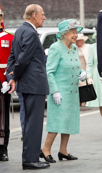 Queen Elizabeth II and Prince Philip, Duke of Edinburgh attend the Opening of the Fifth Session of the National Assembly for Wales at The Senedd on June 7, 2016 in Cardiff, Wales.