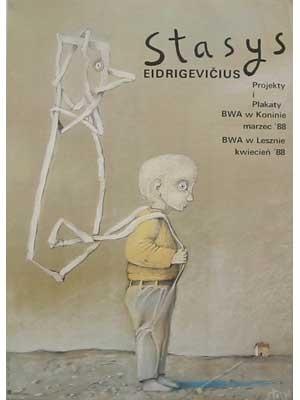 Stasys Eidrigevicius, projects en posters, 1988