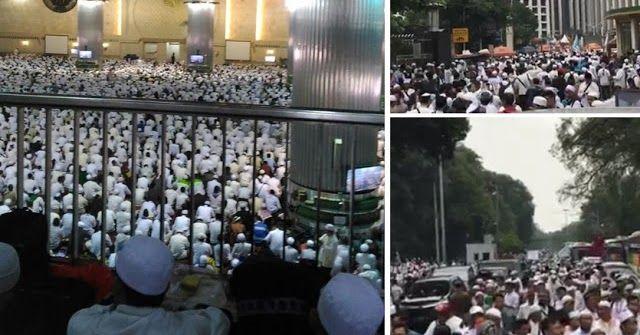 Ternyata Titik Kumpul Demo 2 Desember Bukan di Istiqlal Lagi, namun disini
