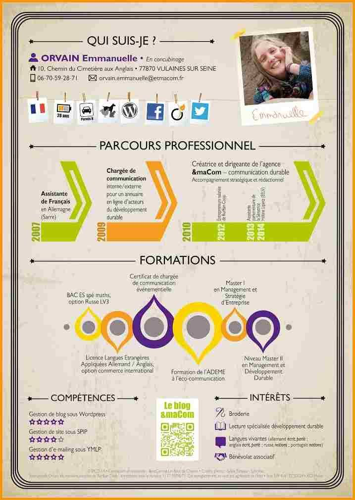 32 best cv originaux images on pinterest