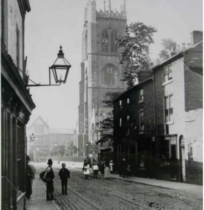 St Margaret's church from Churchgate.