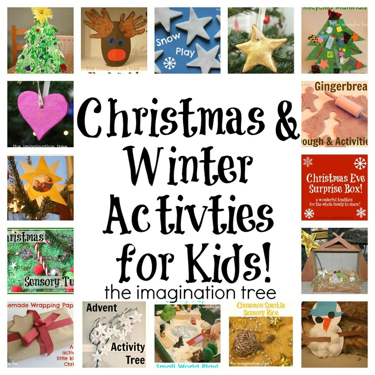 20+ Christmas Activities for Kids from The Imagination Tree