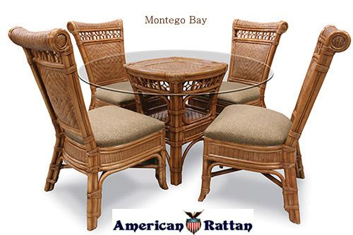 326 Montego Bay Dining Room Set And Individual Pieces American Wicker Capris Furniture Http