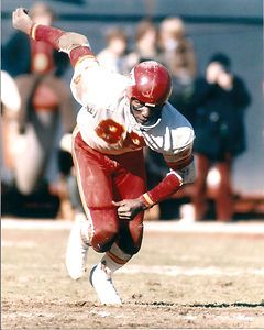 : 1969: Chiefs Defeat Jets in AFL Divisional Playoff WR #89 Otis Taylor     Super Bowl  /vikings