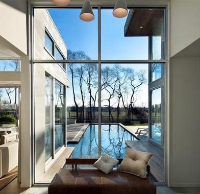 Fotos y Diseños de Ventanas: fotos de casas con ventanas grandes