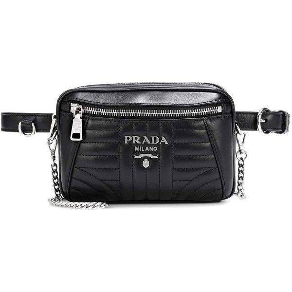 4934071049 Prada Diagramme Leather Belt Bag ($1,120) ❤ liked on Polyvore ...