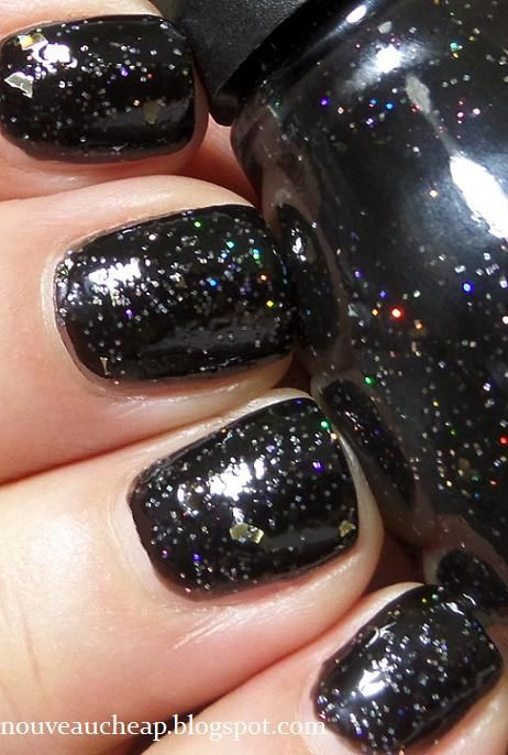 Review Swatches: Sinful Colors Starry Night.  I love sinful colors and therefore NEED this.