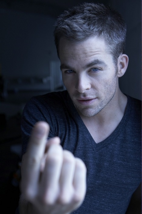 Chris Pine. Beautiful.