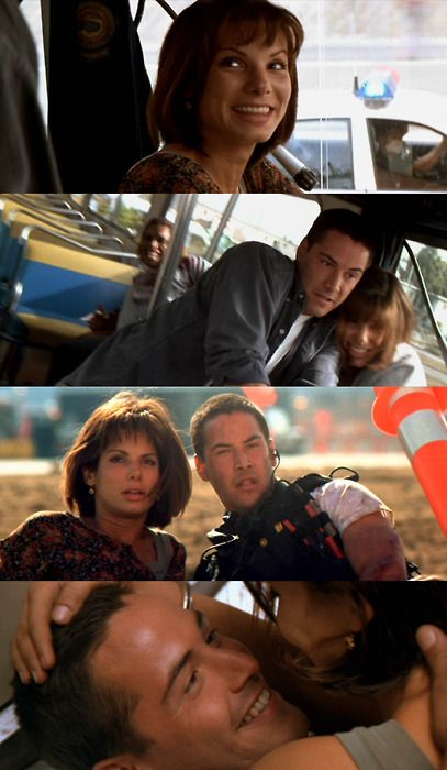Speed (1994) with Sandra Bullock and Keanu Reeves #movies #films