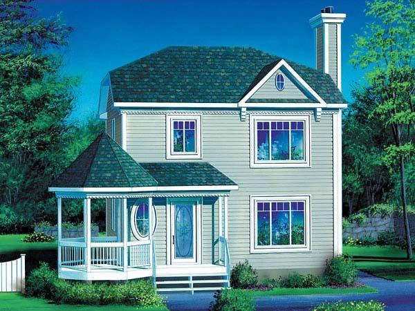 Victorian House Plan 49410