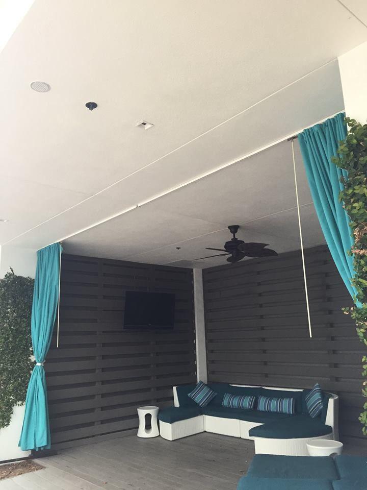 And Cabanas Outdoor Curtains Curtain Track Cabana