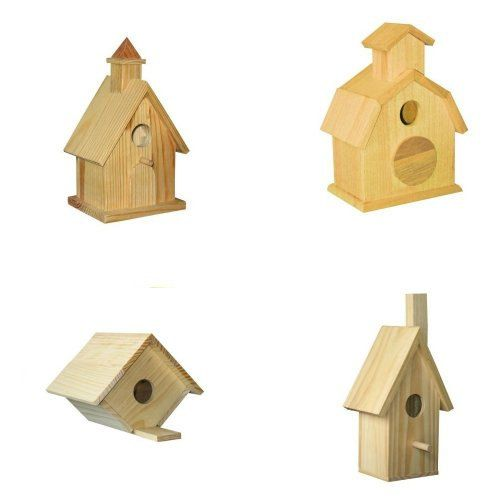 Hey, I found this really awesome Etsy listing at https://www.etsy.com/listing/190034824/4-assorted-bird-house-kits-birdhouse