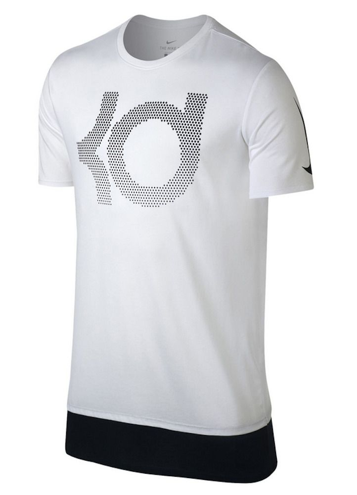 buy online b9652 13dcf NIKE KD KEVIN DURANT WHITE DRI FIT GRAPHIC TEE T SHIRT MENS LARGE NWT  40   fashion  clothing  shoes  accessories  mensclothing  shirts (ebay link)