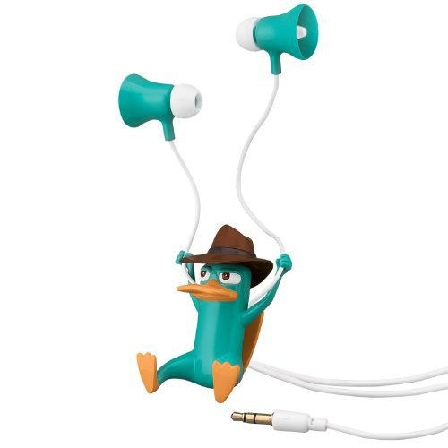 Perry the Platypus ear buds? Yes please! :)