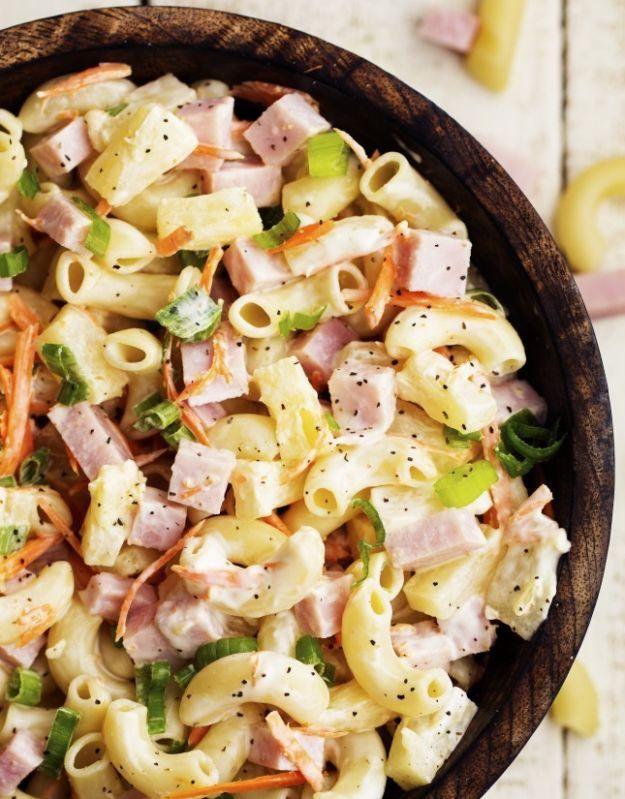 Hawaiian Macaroni Salad | 18 Christmas Side Dishes Every Christmas Table Needs