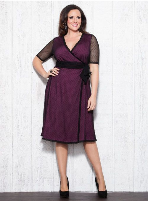 Wanderlust Wrap Dress Plus Size
