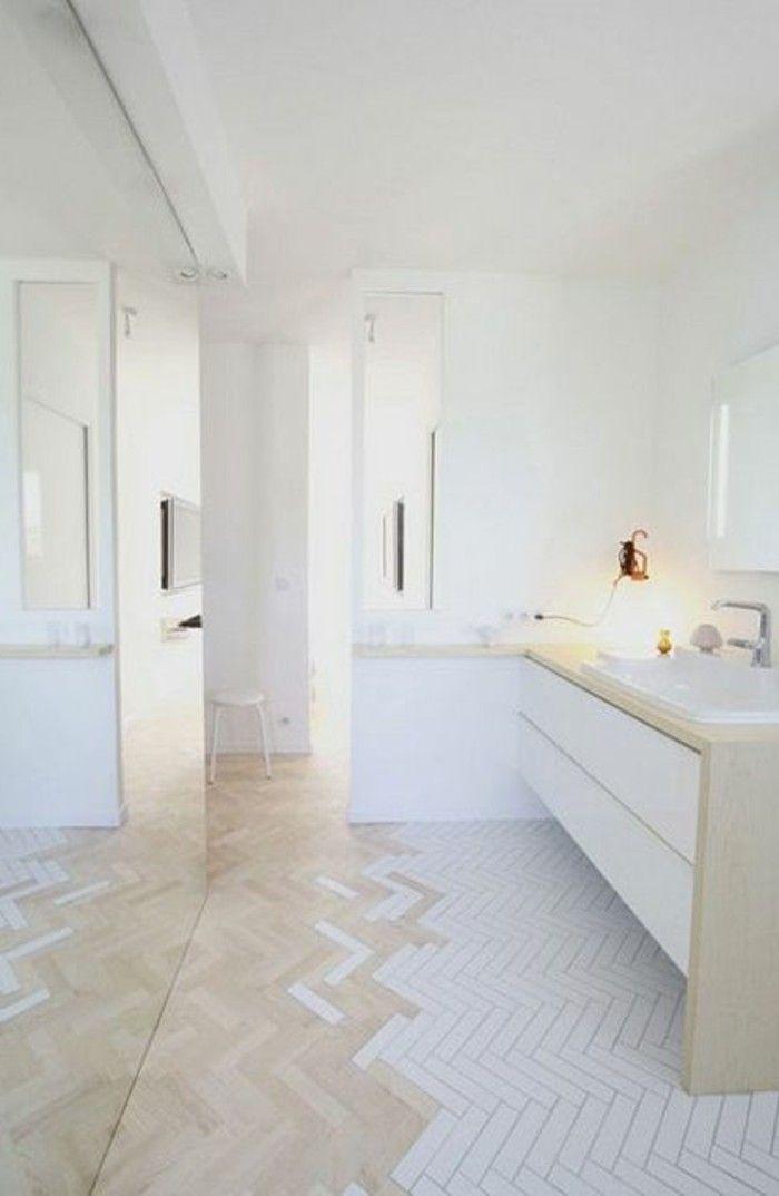 Las 25 mejores ideas sobre carrelage blanc brillant en for Carrelage blanc 10x10