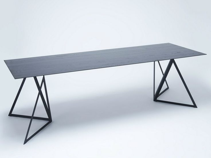 Mesa lacada retangular STEEL STAND TABLE | Mesa lacada - NEO/CRAFT