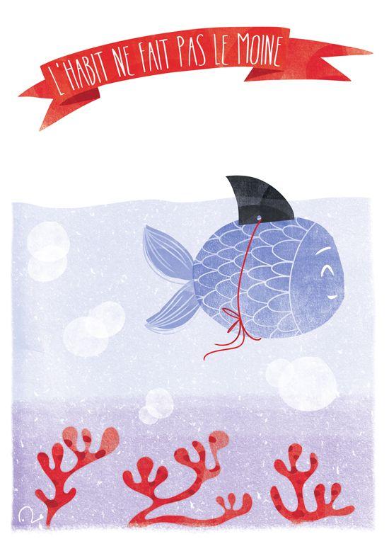 Lili la baleine verte - Illustratrice