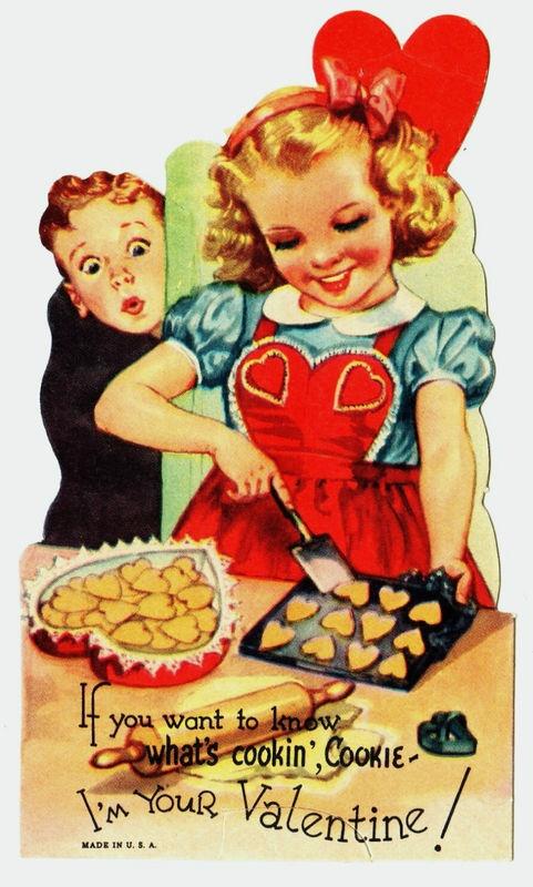 Cookin up a valentine