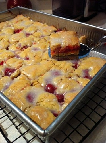 cherry kuchen..german food day