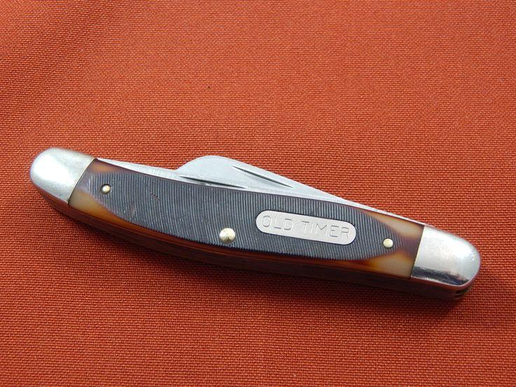 Vintage Schrade Old Timer Pocket Knife by AlwaysPlanBVintage on Etsy