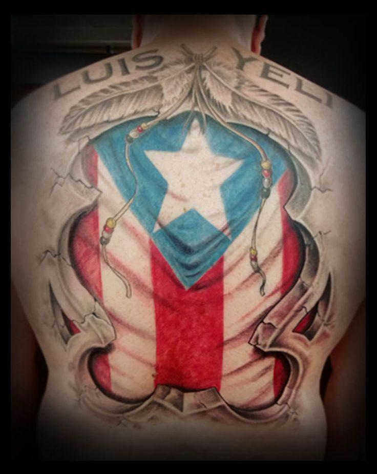 puerto rican flag tattoo cartoon tattoo designs pinterest flag tattoos puerto rican flag. Black Bedroom Furniture Sets. Home Design Ideas
