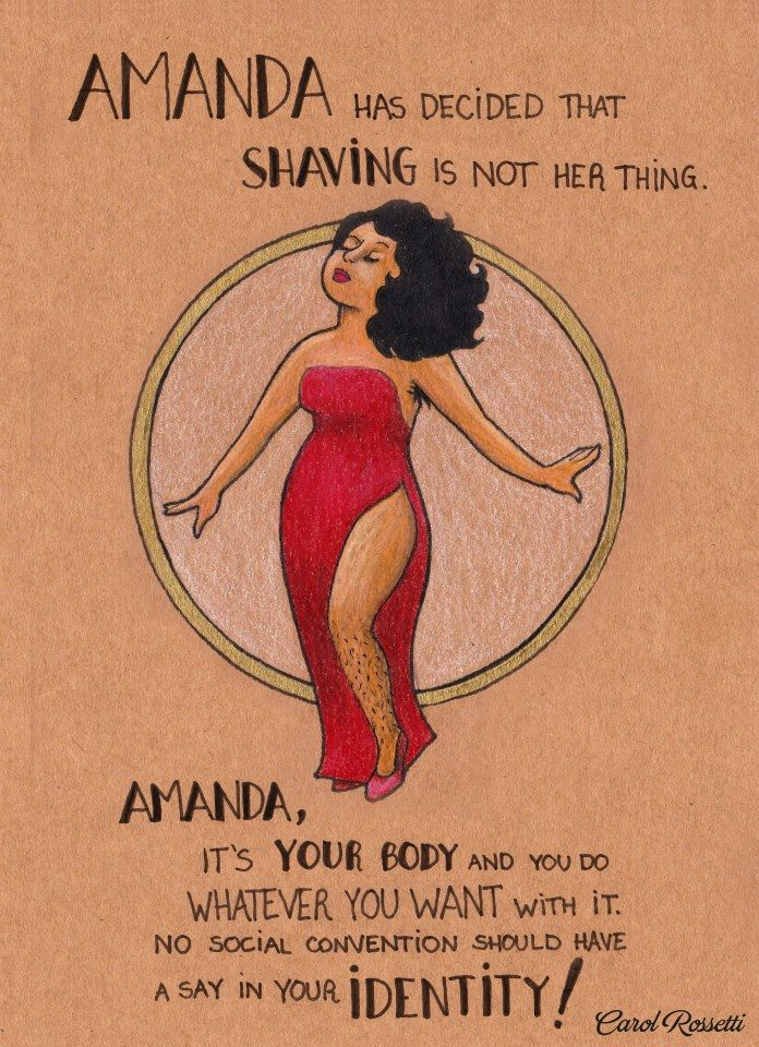 7 pictures for women  Carol Rossetti is a graphic designerand illustrator from Brazil. She is also a proud feminist. Her work, originally created in Portuguese, was shared and translated by women all over the world after she shared it on her popular Facebook page.