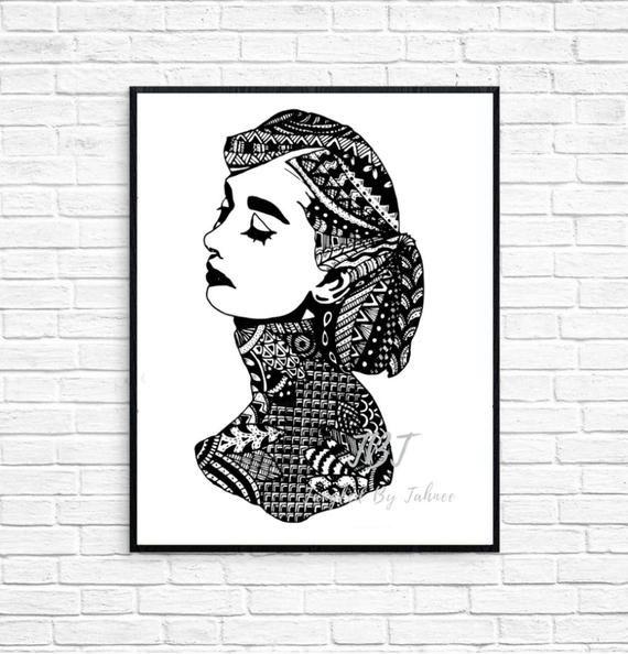 Audrey Hepburn Wall Art Audrey Hepburn Print Zentangled Print Zentangled Audrey Hepburn Black White Wall Art Simple Wall Decor In 2020 Audrey Hepburn Wall Art Black And White Wall Art