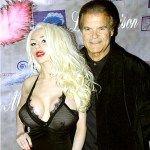 Courtney Stodden With Edward Lozzi, Beverly Hills Publicist