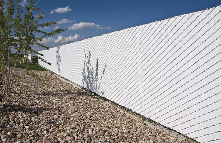 Chain Link Fence Slats are the Perfect Way to Add Privacy