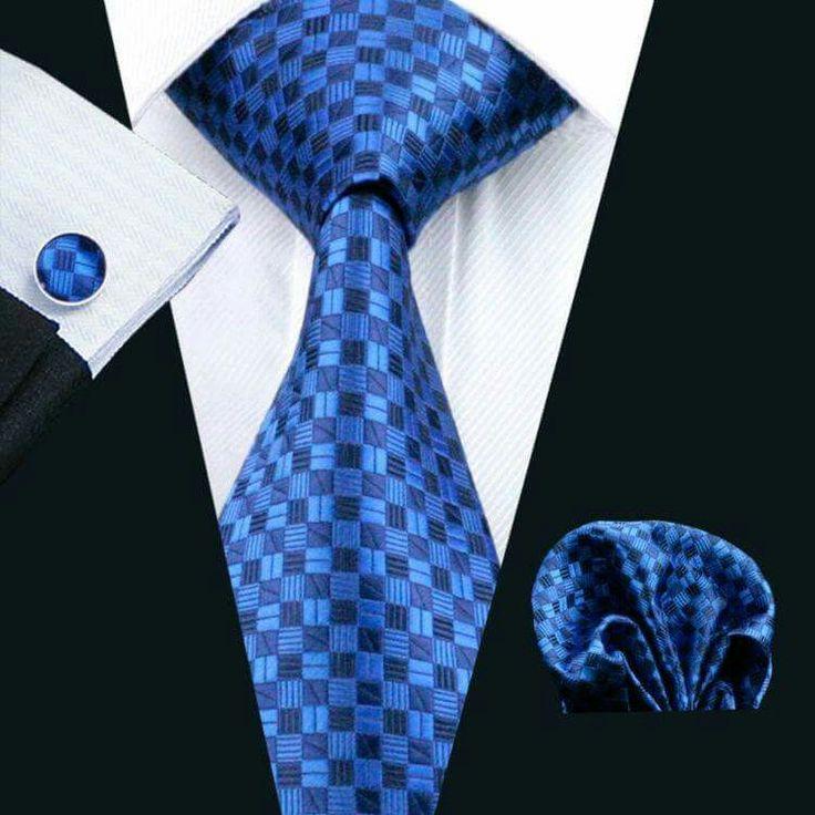 Ties On Sale, Blue Melange, linen, 2017, one size Belvest